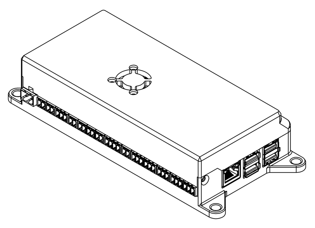 DC1L affordable dynamometer controller isometric view