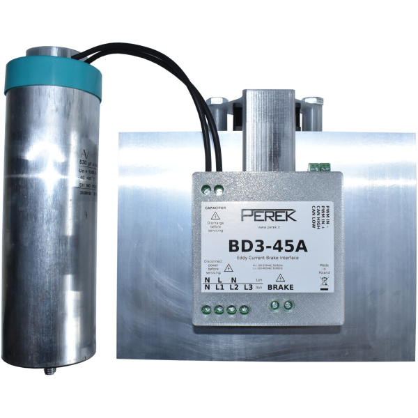 BD3 brake power supply with 45A current range